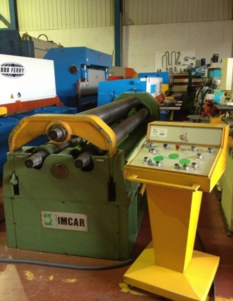 Cilindro hidráulico IMCAR SHIR-12/5 de 3100x8/11mm