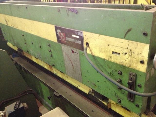 Plegadora hidráulica Casanova de 4.000x90t