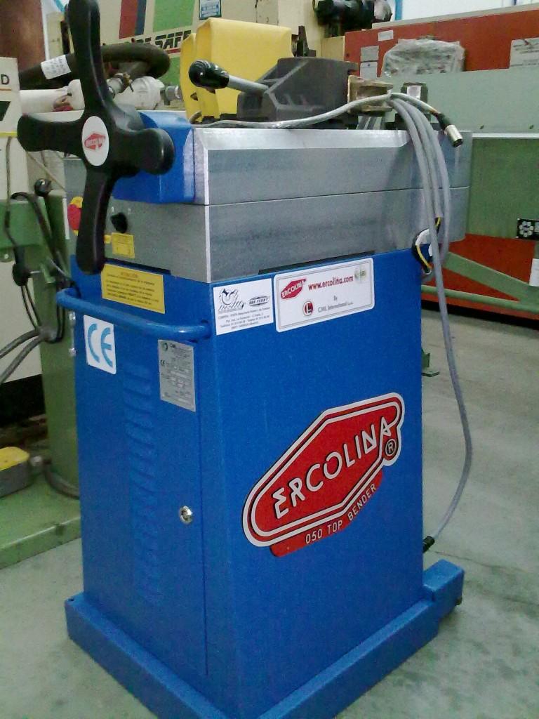Curvadora de tubos ercolina top bender 050 de segunda mano for Curvadora de tubos segunda mano