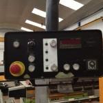 Detalle del panel de control de Cizalla hidraulica Mebusa CGH3112