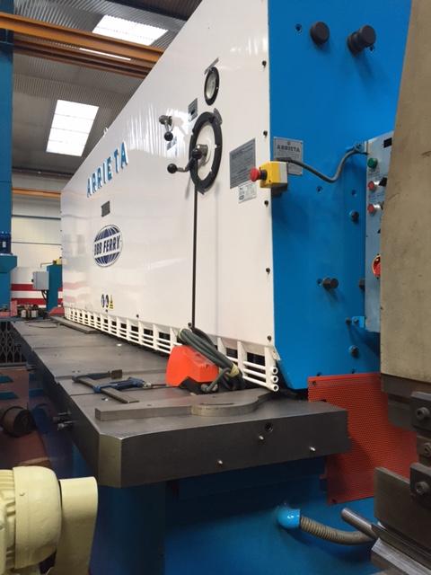 Cizalla hidráulica Arrieta de 4000x13mm