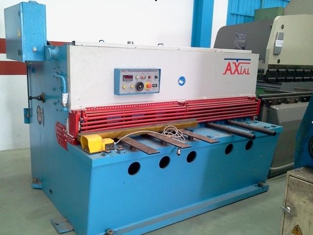 Cizalla hidráulica Axial de 2.100x10mm