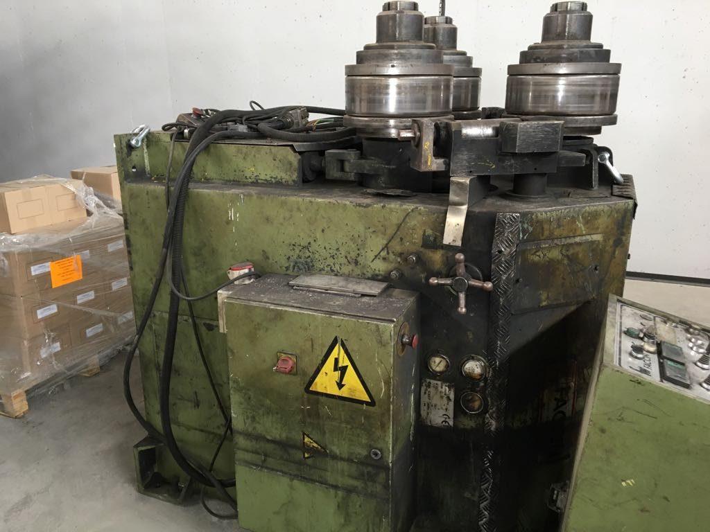 Curvadora de perfiles faccin rcmi 110 de segunda mano for Curvadora de tubos segunda mano