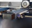 Tope trasero motorizado, puede ser gestionado por CNC o posicionador