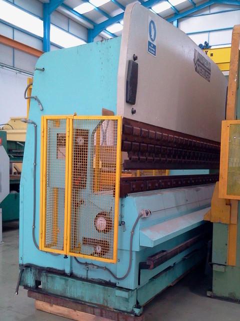 Plegadora hidráulica Mebusa PH-155 de 5.000x150t