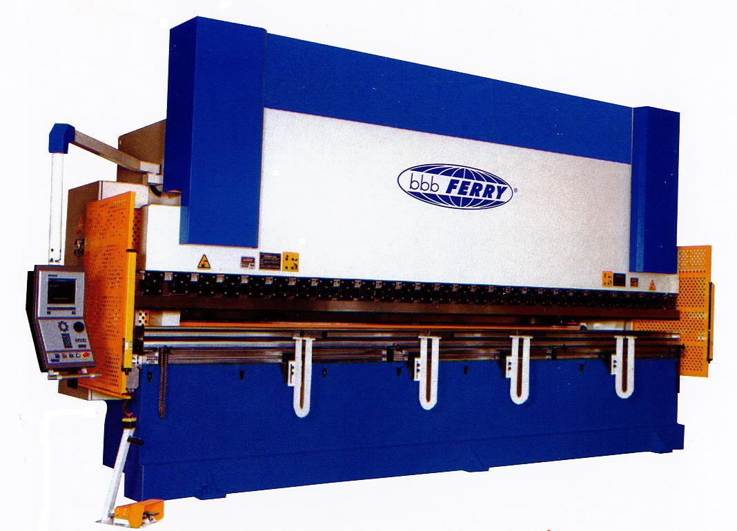Plegadora electrónica Ferry PPE-CNC sincronizada a 4 ejes