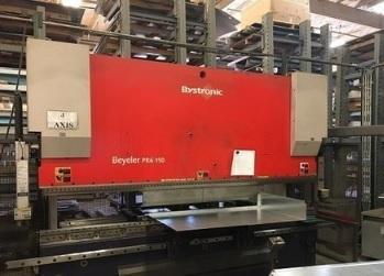 Plegadora Bystronic PR6 de 4100x150t a 6 ejes