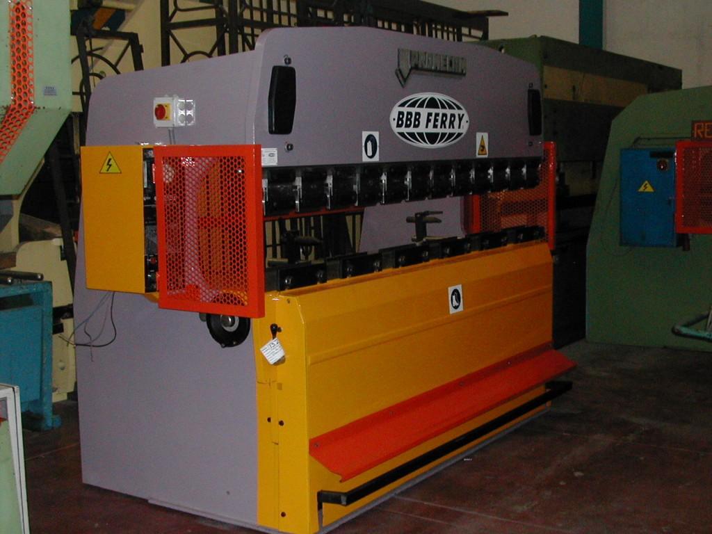 Plegadora hidráulica Mebusa 2000mm puesta a punto