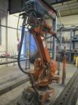 Robot de soldadura ABB usado en perfecto estado