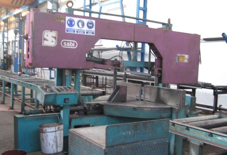 Sierra de cinta semiautomática Sabi PBR-400/600