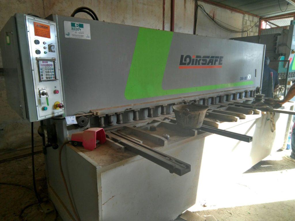 Cizalla hidráulica Loire CHVt 3000x10mm